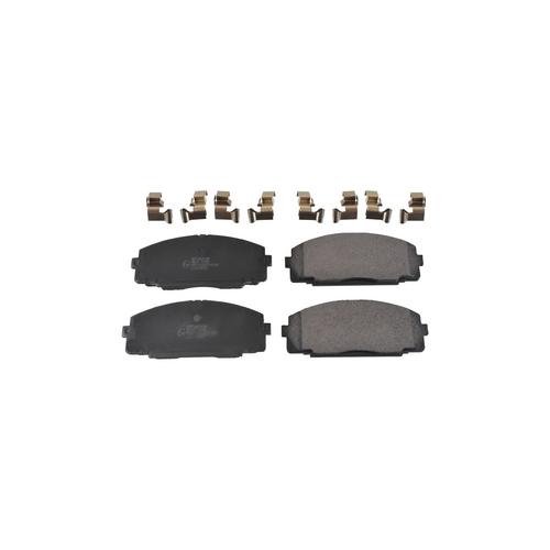 NIBK pn1237 (0446525040 / 0446525060 / 0446526020) колодки тормозные дисковые Toyota (Тойота) hiace 3.0 1998 - 2004 Toyota (Тойота) hiace 2.5 2005 - Toyota (Тойота) dyna 3.0 2