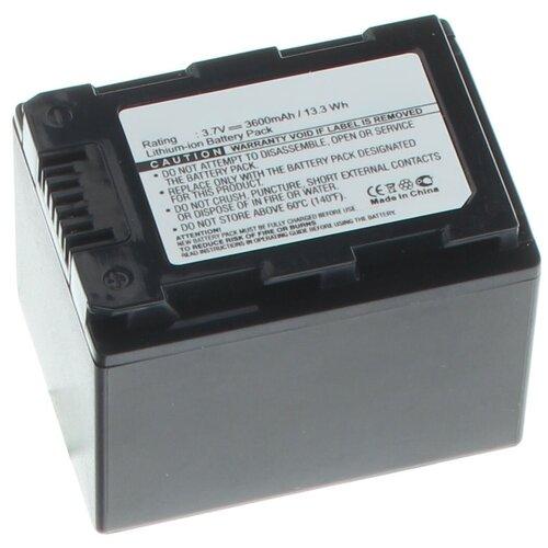 Аккумуляторная батарея iBatt 3600mAh для Samsung HMX-H200BP, SMX-F44BP, HMX-S10BP