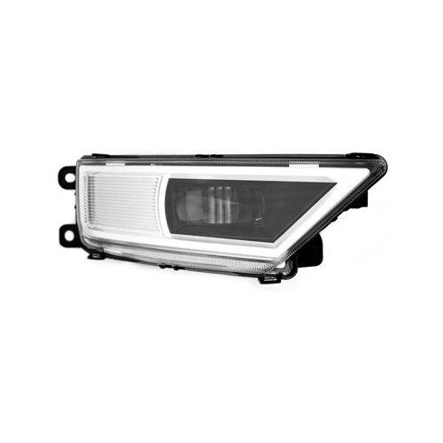 Фары противотуманные светодиодные автомобильные MTF Light VW TIGUAN NEW, линза, 12В, 5000К, 8Вт, ЕСЕ R19, E4 комплект