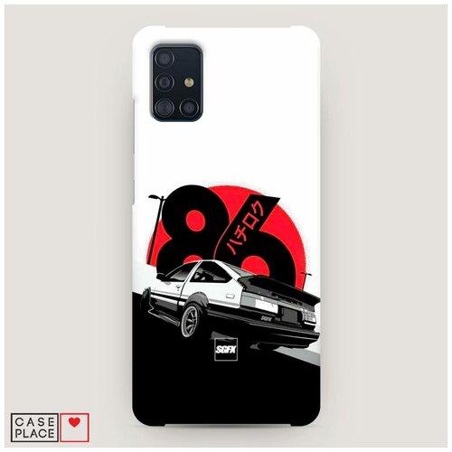 Чехол Пластиковый Samsung Galaxy A51 Toyota AE86
