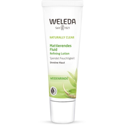 weleda naturally clear purifying gel cleanser Weleda Naturally Clear Матирующий флюид для лица, 30 мл