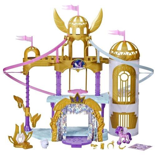 Игровой набор My Little Pony My Little Pony Movie Soaring Shimmer Castle F2156 my little pony movie мерцание пони в волшебных платьях