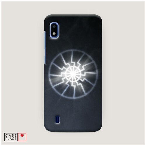 Чехол Пластиковый Samsung Galaxy A10 Черное солнце
