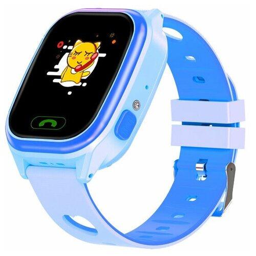 Часы детские Smart Baby Watch Y-85 синие