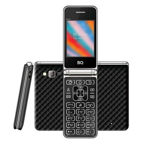 Мобильный телефон BQ 2445 Dream Black мобильный телефон bq elegant 3595 серый