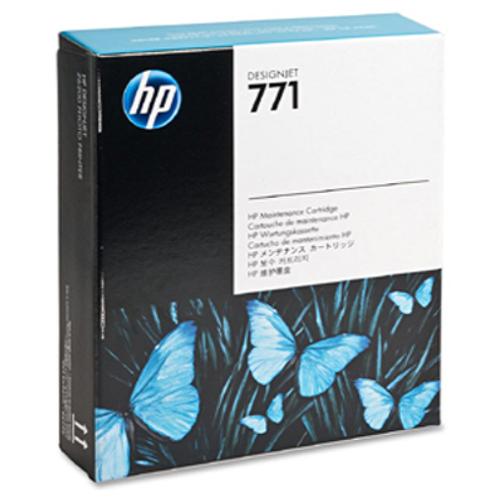 Фото - Струйный картридж для обслуживания Hewlett-Packard CH644A (HP 771) сервисный комплект hewlett packard c8058a для hp laser jet 4100 series