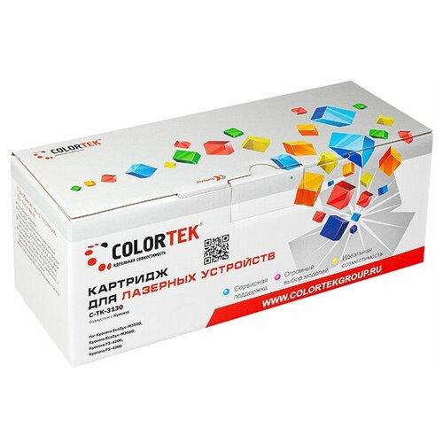 Фото - Картридж лазерный Colortek CT-TK-3130 для принтеров Kyocera картридж лазерный colortek ct ar016t для принтеров sharp