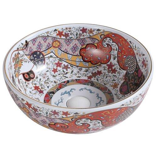 Раковина-чаша Bronze de Luxe красная (2231) раковина bronze de luxe 1616