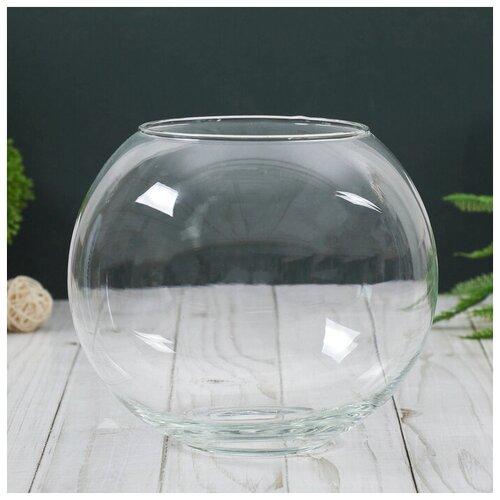 Фото - Evis Ваза Кюгель-4 шаровая d-8.5см 14,9х17,2 см 2,4 л ваза шаровая d 14см 22х19см 5л 1001570
