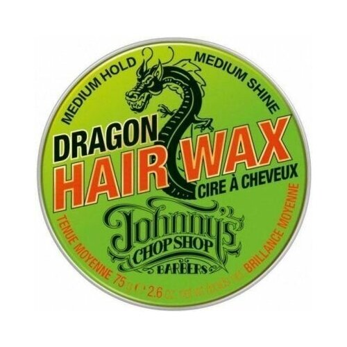 Johnny's chop shop dragon hair wax - воск для волос средней фиксации 75 гр