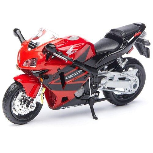Maisto Мотоцикл Honda CBR 600RR, 1:18 красный