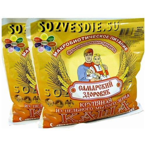 Каша Самарский Здоровяк № 51 пшенично-пшенная С овсом