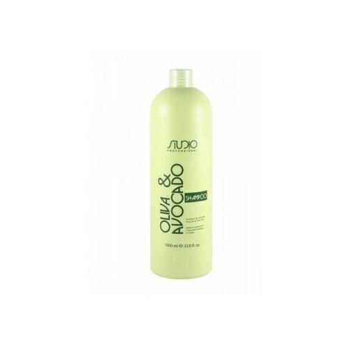 Купить KAPOUS шампунь для волос С маслами авокадо И оливы, 1000 МЛ, Kapous Professional
