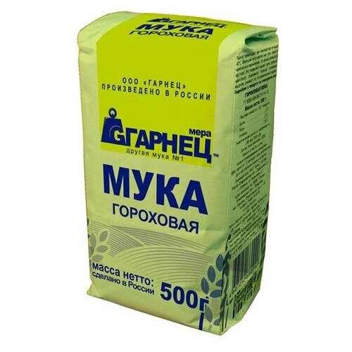 Мука гороховая Гарнец, 500 г