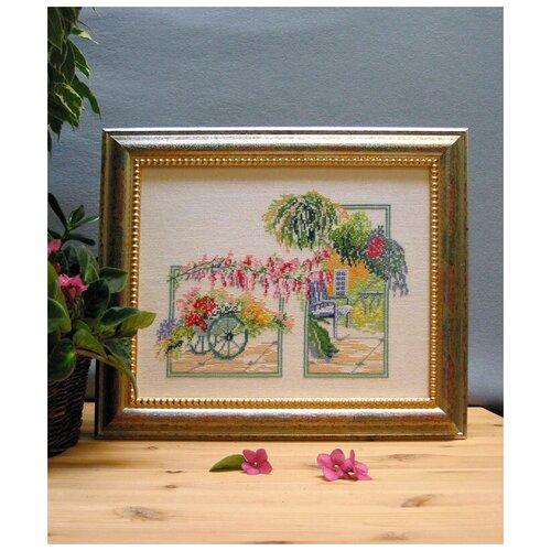 Купить Набор для вышивания Цветущий сад 34 x 27 см 73-33046, Oehlenschlager, Наборы для вышивания