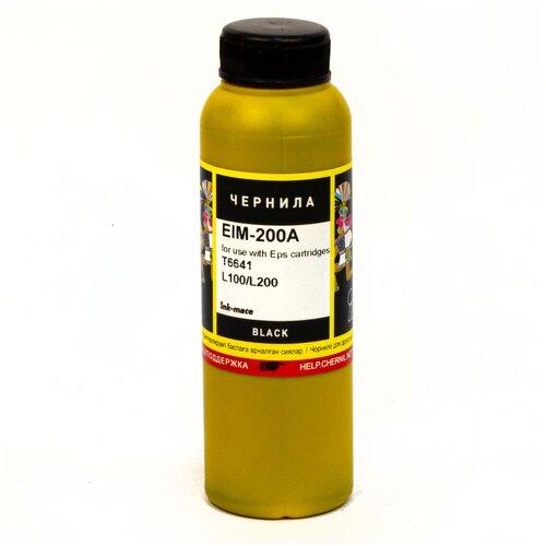 Фото - Чернила ink-mate EIM-200B для EPSON T6641 L100/L120/L200/L300 (100мл, black, Dye) us imports bussmann fuses fwh 200a fuse fwh 200b 500v 200ka