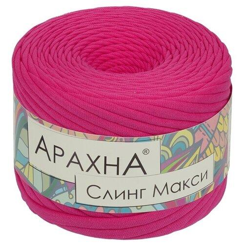 Купить Набор пряжи ARACHNA Sling Maxi, 100% хлопок, 4*280+/-16 г, 100+/-5 м, №23, ярко-розовый, Витражная роспись