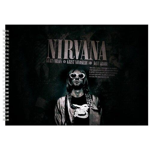 Альбом для рисования, скетчбук Nirvana Cobain
