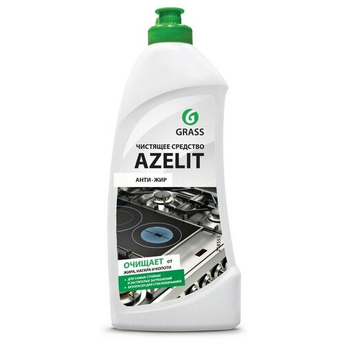Средство для чистки плит Azelit Антижир 500мл гель СВЧ,грили,коптильни 2 шт.