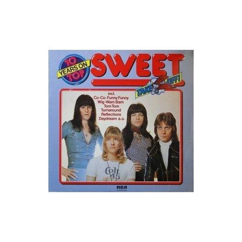 Старый винил, RCA , SWEET - Ten Years On Top (LP, Used) свитшот sweet years sweet years sw012emglfs7