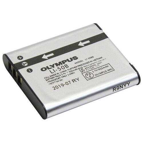 Фото - Аккумулятор OLYMPUS Li-50B аккумулятор vbparts li 10b 3 7v 1200mah 077153 для olympus camedia c 50