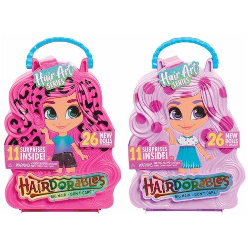 Кукла-загадка Hairdorables Арт вечеринка в непрозрачной упаковке (Сюрприз) 23850