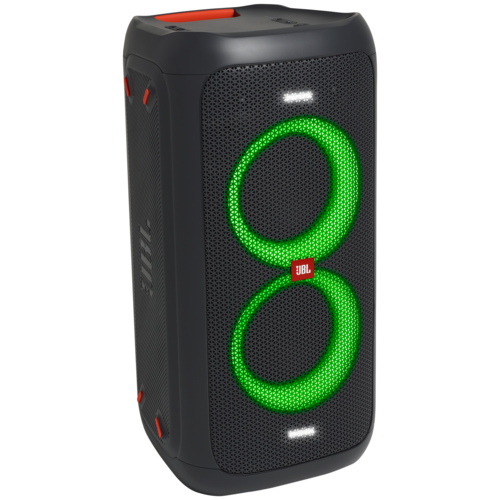 Портативная акустика JBL Partybox 100 + микрофон AKG P3S