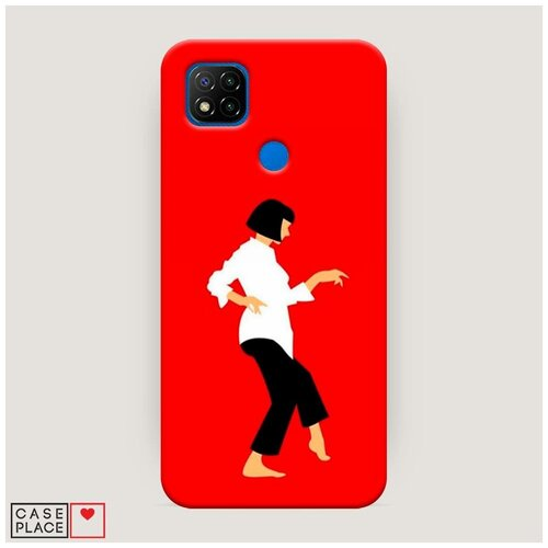 Чехол Пластиковый Xiaomi Redmi 9C Криминальное чтиво 1