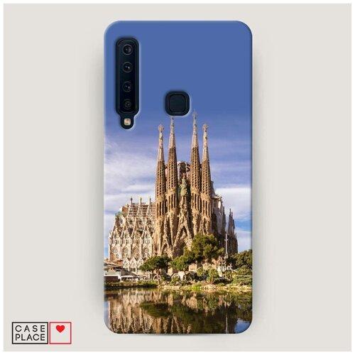 Чехол Пластиковый Samsung Galaxy A9 2018 Храм святого семейства в Барселоне 1