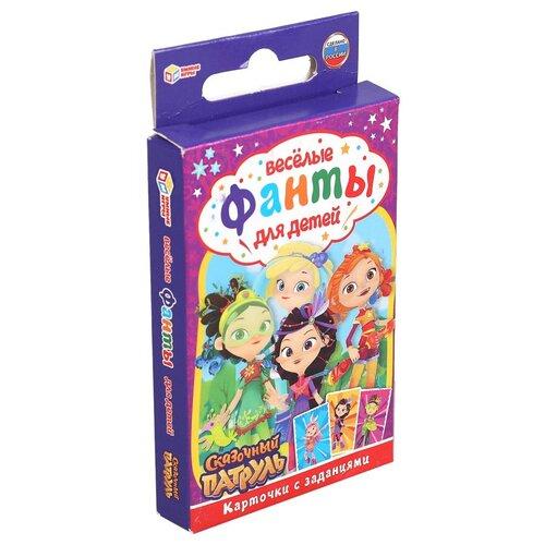 Настольная игра Умные игры Веселые фанты для детей Сказочный патруль