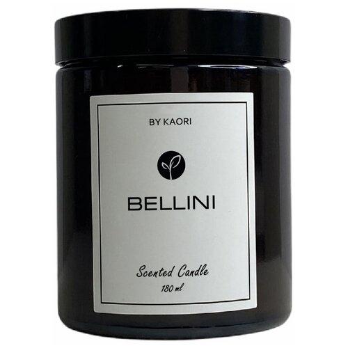 Свеча ароматическая KAORI, 180 мл, аромат BELLINI (беллини) в беллини пират il pirata by bellini vincenzo