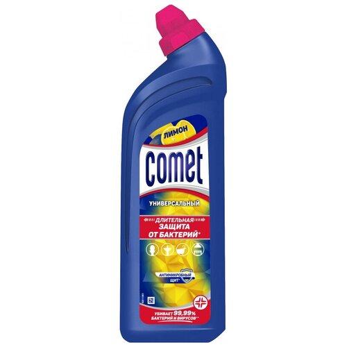 Универсальное чистящее средство Comet гель 700мл Лимон 2 шт. comet туалетный блок toilet expert антиналет лимон 1 шт