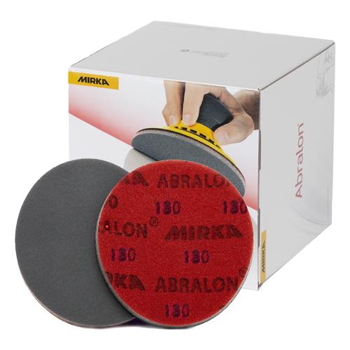 Абразивные круги Mirka Abralon Р180 150мм