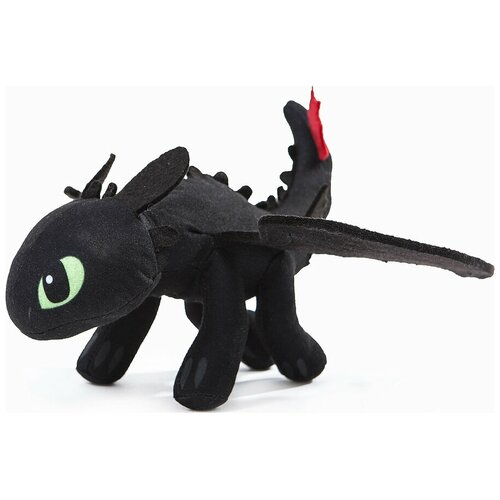 Мягкая игрушка Ночная Фурия (Беззубик) - Как приручить Дракона 35 см.