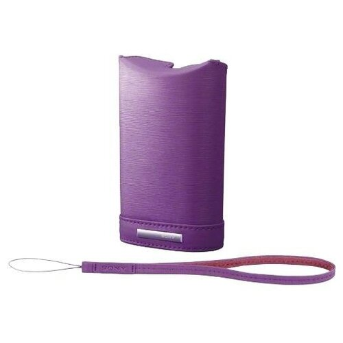 Чехол для фотокамеры Sony LCS-WM Violet для аппаратов J/ S/ W/ WX Размер 11.80х4х7.20 см фиолетовый (LCSWMV.SYH)