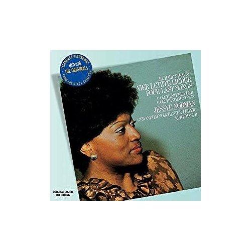 f weingartner japanische lieder op 45 Компакт-диски, Philips, NORMAN, JESSYE - Strauss, R.: Vier Letzte Lieder & Lieder (CD)