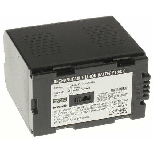 Аккумулятор iBatt iB-U1-F316 3300mAh для Hitachi DZ-MV208E, DZ-MV270, DZ-MV100, DZ-MV200E, DZ-MV100A, DZ-MV100E, DZ-MV200, DZ-MV200A, DZ-MV230, DZ-MV230A, DZ-MV230E, DZ-MV238E, DZ-MV250, DZ-MV270A, DZ-MV270E,