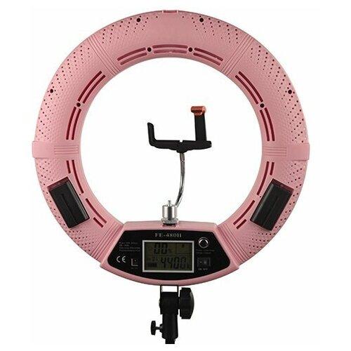 Фото - Кольцевая лампа OKIRA LED RING FE 480 PRO — Цвет Розовый лампа кольцевая veila led ring fill light 3436