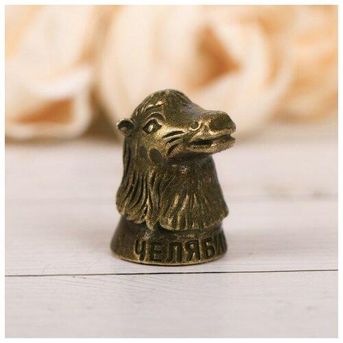 Наперсток сувенирный «Челябинск» латунь, 2 х 3 см 4091270
