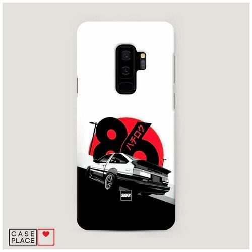 Чехол Пластиковый Samsung Galaxy S9 Plus Toyota AE86