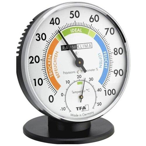 Термогигрометр TFA 45.2033, металл/пластик, хром