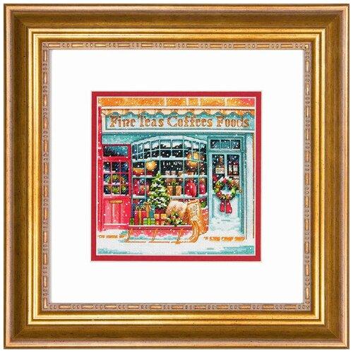 Набор для вышивания DIMENSIONS 70-08973 Кофейный магазин 15 x 15 см dimensions набор для вышивания мать 15 х 15 см 06709