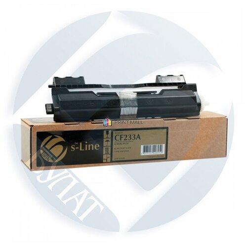 Фото - Тонер-картридж булат s-Line для HP LJ M106/M134 CF233A (2.3k) тонер картридж 33a laserjet cf233a