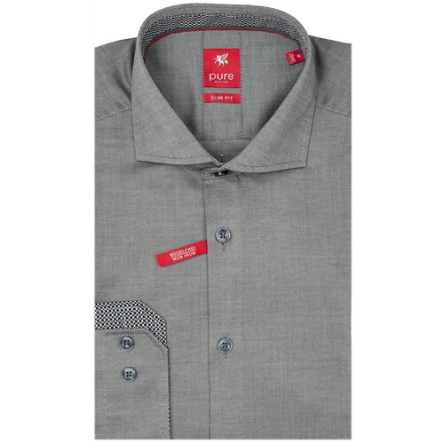 Рубашка pure размер L серый