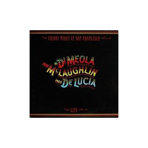 Фото - Компакт-диски, Philips, PACO DE LUCIA / JOHN MCLAUGHLIN / AL DI MEOLA - Friday Night In San Francisco (CD) printio рюкзак 3d friday night funkin персонажи