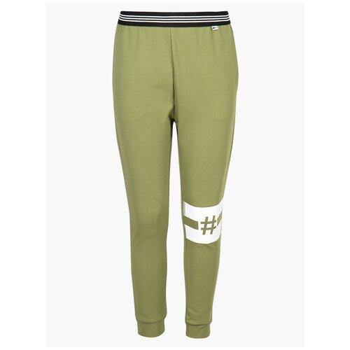 Купить Спортивные брюки Nota Bene размер 122, хаки, Брюки