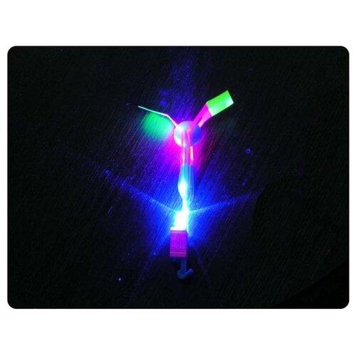 Игрушка Shantou Gepai / СмеХторг / Наша игрушка Вертолетик светящийся 15.5см 63627 конструктор shantou gepai наша игрушка 3d магнитный 52 детали 703 631105