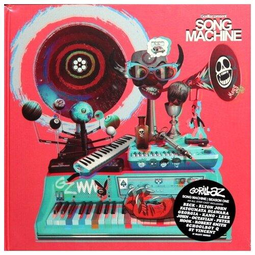 gorillaz gorillaz the fall Parlophone Gorillaz. Gorillaz Presents. Song Machine, Season 1 (Limited Edition Box Set) (виниловая пластинка, CD)