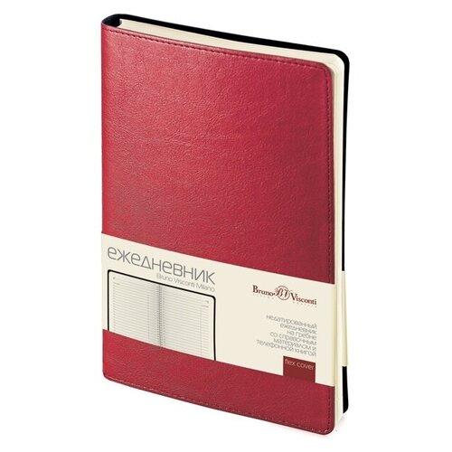 Купить Ежедневник А5 недатированный «Milano», красный, Bruno Visconti, Ежедневники