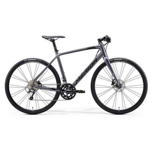 Велосипед Merida Speeder 300 Antracite/Black 20 скоростей рама ML (54 см) 64000 велосипед merida speeder 80 2019